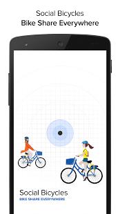 Capture d'écran Social Bicycles