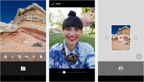 Capture d'écran Appareil Photo Google Android