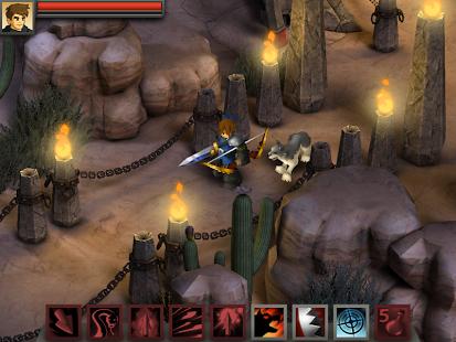 Capture d'écran Battleheart Legacy