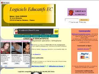 Capture d'écran Logiciels Educatifs EC