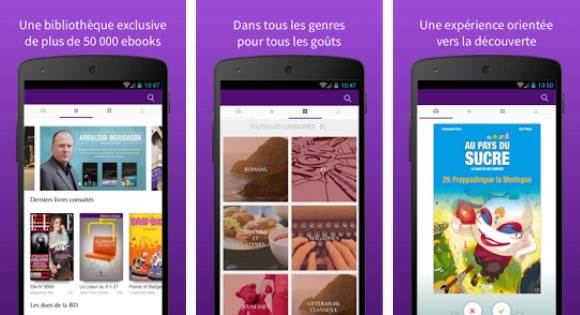 Capture d'écran Cstream Books Android