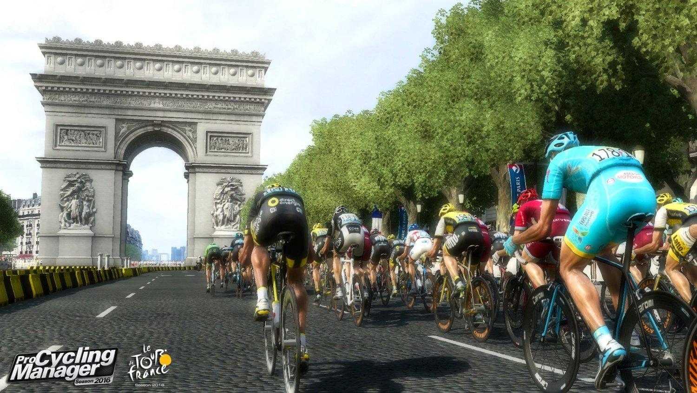 Capture d'écran Pro Cycling Manager Saison 2016