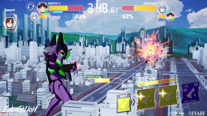 Capture d'écran Evangelion Battlefields Android