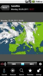 Capture d'écran MeteoNews France