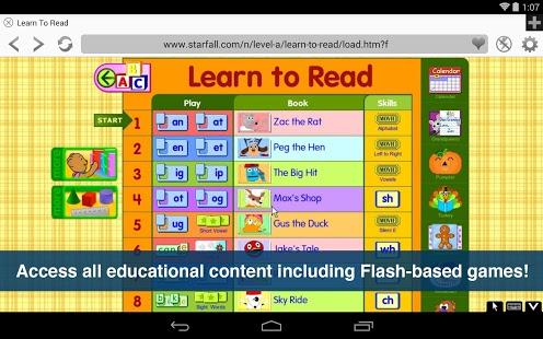 Capture d'écran Photon Flash Player