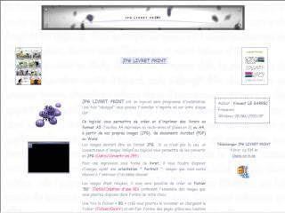 Capture d'écran JPG Livret Print
