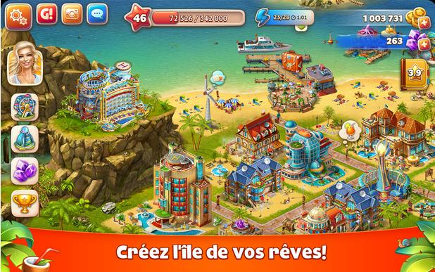 Capture d'écran Paradise Island 2 iOS