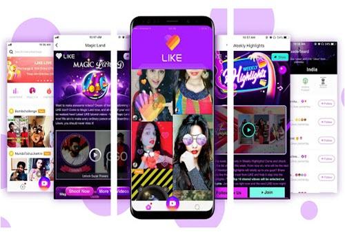 Capture d'écran LIKEE Video – Magic Video Maker & Community Android