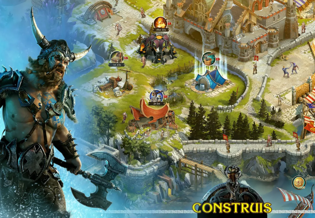 Capture d'écran Vikings: War of Clans Android