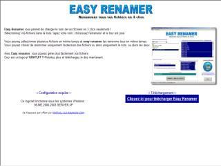 Capture d'écran Easy Renamer