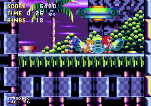 Capture d'écran Open Sonic