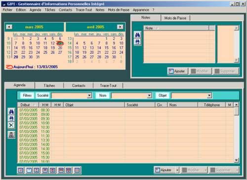 Capture d'écran GIPI