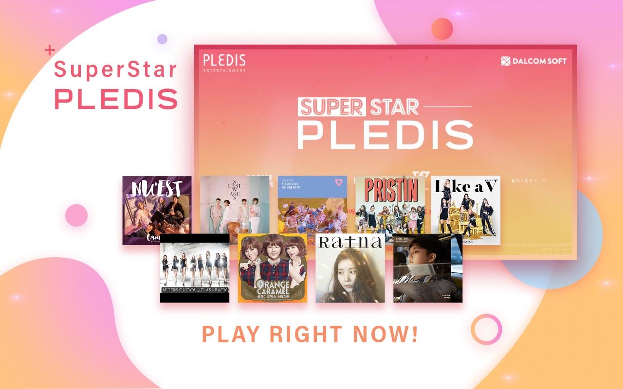 Capture d'écran SuperStar PLEDIS Android