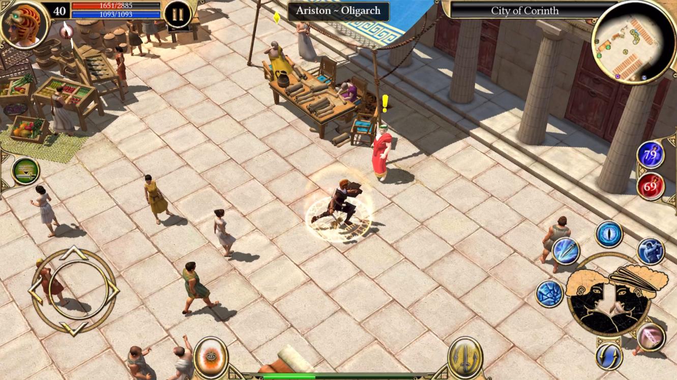 Capture d'écran Titan Quest: Legendary Edition Android