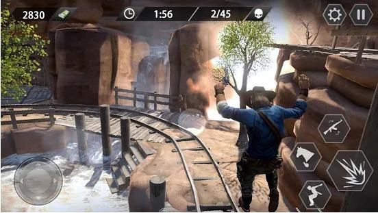 Capture d'écran Cowboy Gun War Android