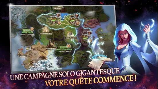Capture d'écran Might and Magic Heroes : Era of Chaos Android