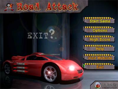 Capture d'écran Road Attack Online