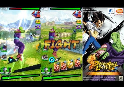 Capture d'écran Dragon Ball Legends Android