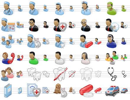 Capture d'écran Perfect Doctor Icons