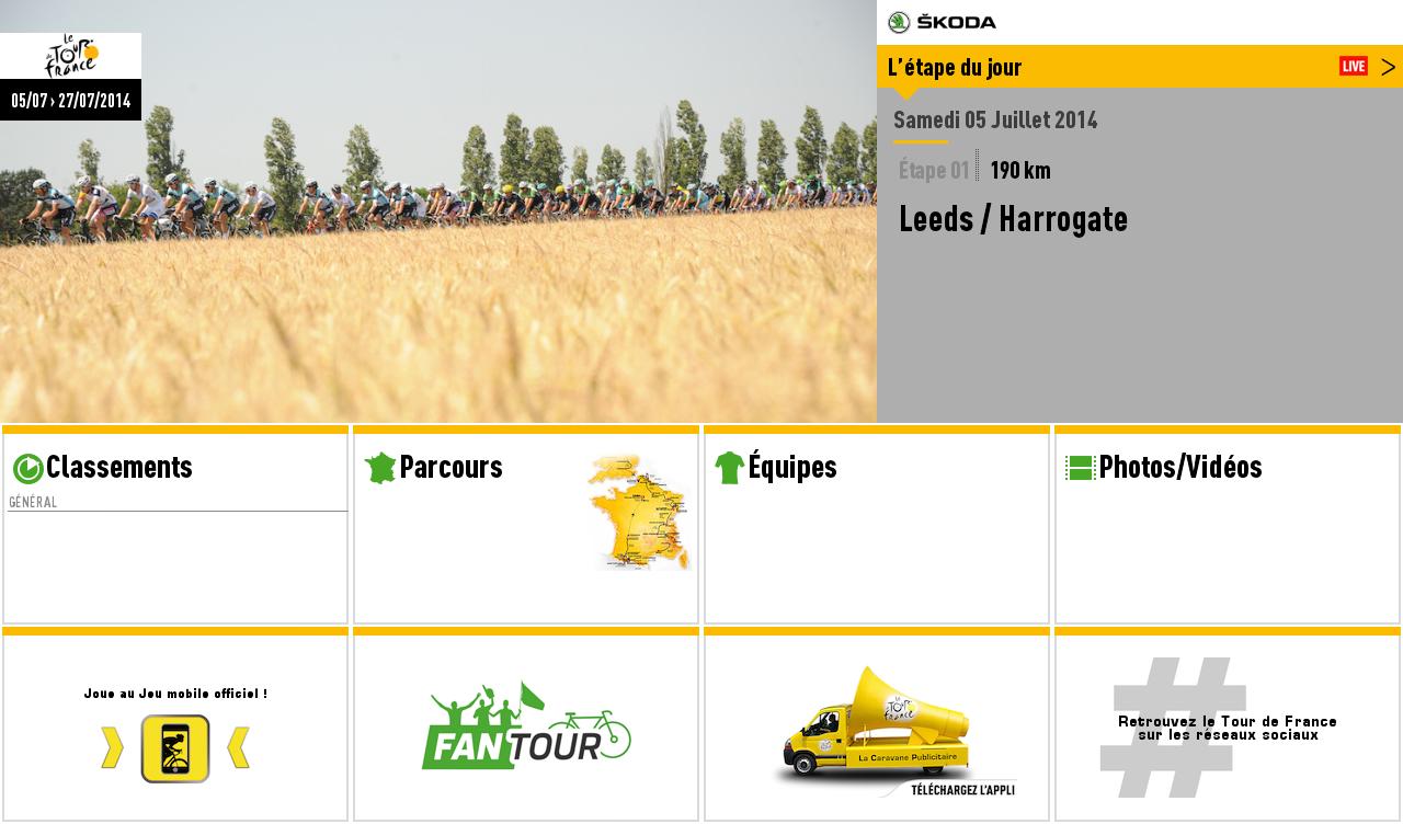 Capture d'écran Tour de France 2014 iOS
