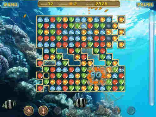 Capture d'écran Underwater Puzzle