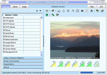 Capture d'écran Willing Webcam