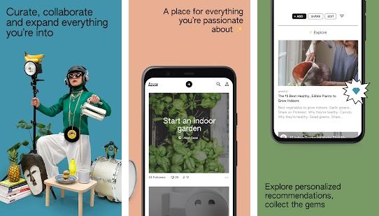 Capture d'écran Keen Android