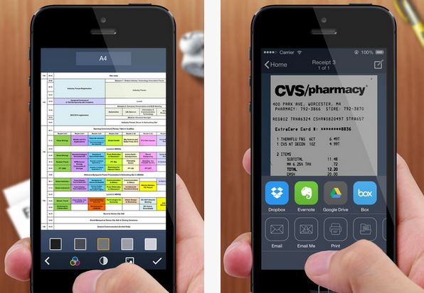 Capture d'écran Tiny Scanner iOS