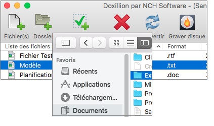 Capture d'écran Doxillion – Convertisseur de documents pour Mac