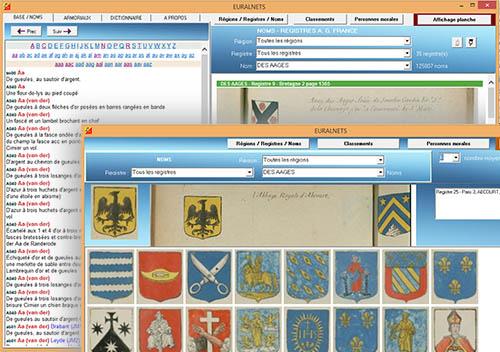 Capture d'écran EURALNETS