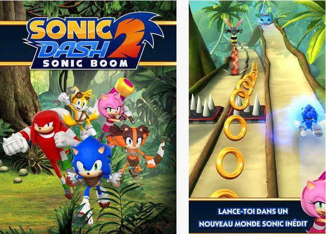Capture d'écran Sonic Dash 2 : Sonic Boom iOS