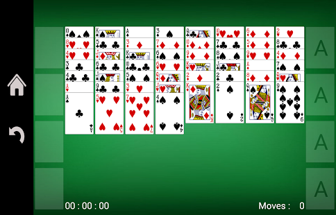 Capture d'écran FreeCell