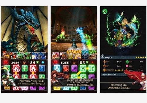 Capture d'écran Dungeon Gems Android