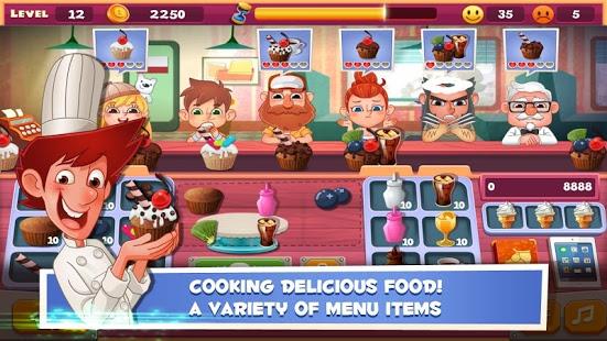 Capture d'écran Papa's Cake Shop