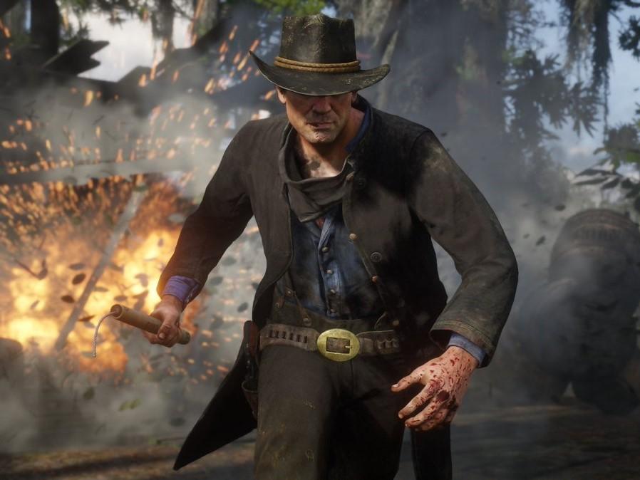 Capture d'écran Red Dead Redemption 2