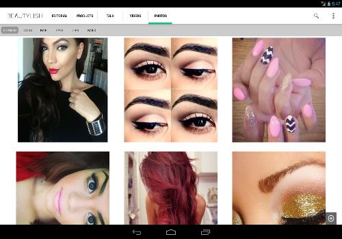 Capture d'écran Beautylish Android