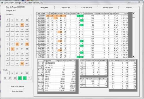 Capture d'écran Euromillion-Mymillion