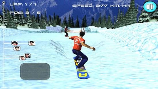 Capture d'écran SnowBoard Racing ( 3D Game )