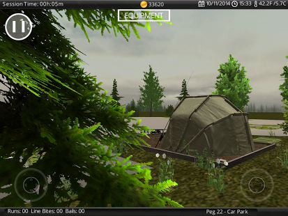 Capture d'écran Carp Fishing Simulator Android