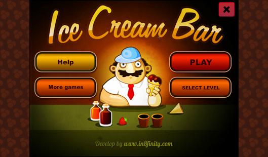 Capture d'écran Ice Cream Bar