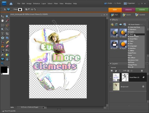 Capture d'écran Elements+ for PSE 7