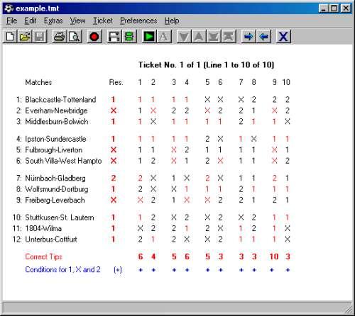 Capture d'écran TotoCalculator 2 for Linux