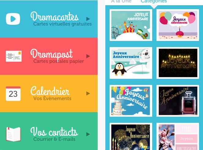 Capture d'écran Dromadaire iOS