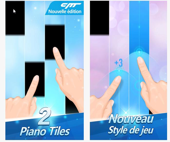 Capture d'écran Piano Tiles 2 android