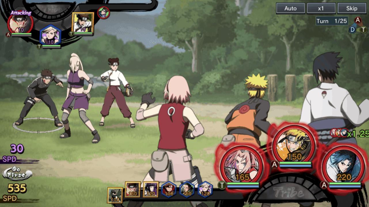 Capture d'écran Naruto X Boruto Ninja Tribes
