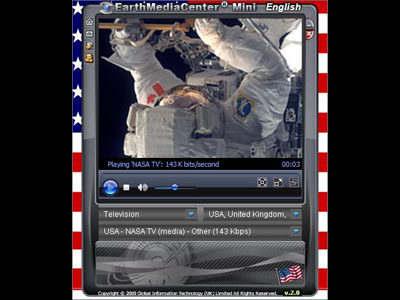 Capture d'écran Global Media Center Portable