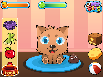 Capture d'écran My Virtual Pet – Chiot Chaton