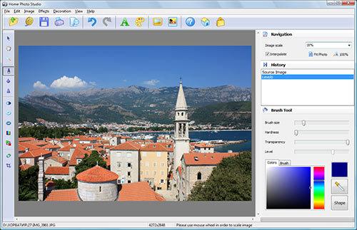 Capture d'écran Home Photo Studio