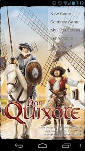 Capture d'écran Don Quixote