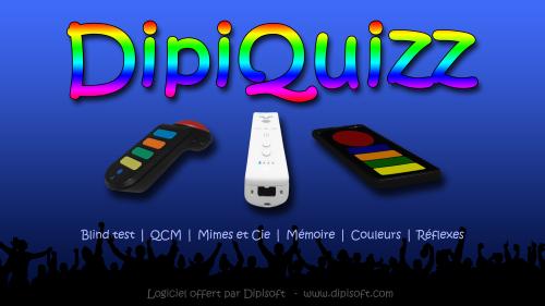 Capture d'écran DipiQuizz v1.2
